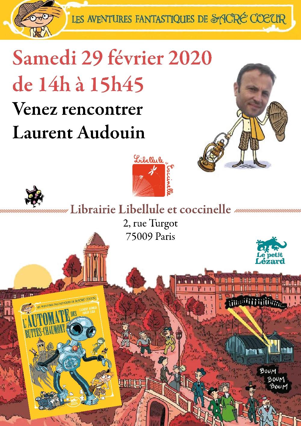 Affiche 29 fevrier Libellule Audouin pf
